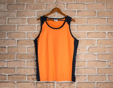 100% Cotton Safety Keep Dry Singlet