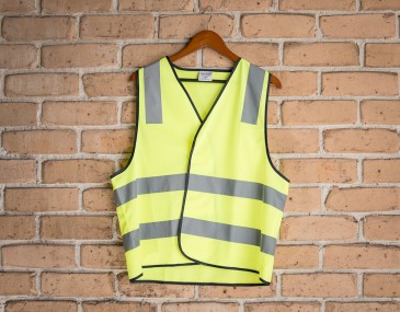 High Visibility H Pattern Safety Vest