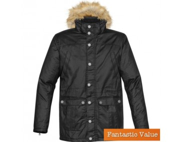 imprinted Mens Parka Edo jackets