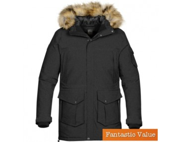 Imprinted Mens Parka jackets
