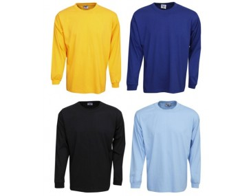 Long Sleeved Coloured Tee Shirts