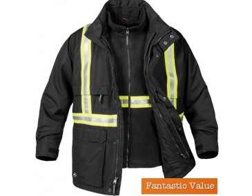Mens 3-In-1 Reflective jackets