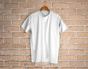Comfort Slim White Mens Tee