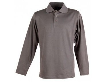 Cotton Polo Long Sleeve Shirts