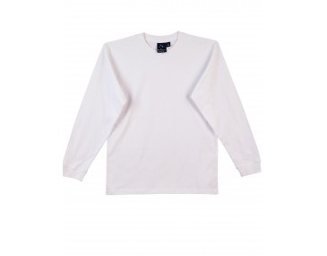 Mens Long Sleeved White Tee Shirts