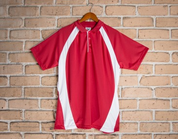 Mini Woven Mens Polo