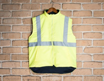 Reversible Night and Day Safety Vest