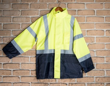 Safety Fluro Day Night Jacket