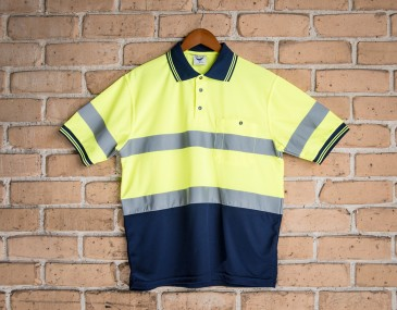 Short Sleeve Day Night Speed Dry Polo