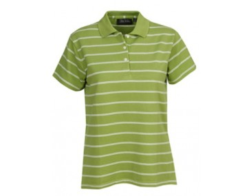 Striped Ladies Polo Shirt