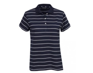 Striped Mens Polo Shirt