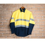 Dockers Long Sleeve High Visibility Shirt