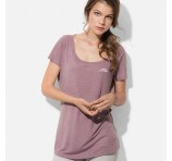 Ladies Fashion Crew Tees Bulk Branded