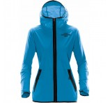 Ladies Hooded Logo Shell Jackets