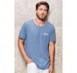 Men's Style Crew Shirts Logo Decorated