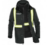 Mens 3 in 1 Parka Personalised