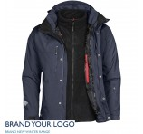 Mens Beaufort 3-In-1 jackets