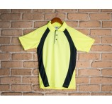 Mens Hi Vis Fast Dry Waffle Knit Polo