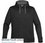 personalised Mens Zipped Hoody