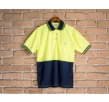 Quick Dry Safety Polo Short Sleeves