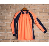 Worker Hi Vis Panel Polo