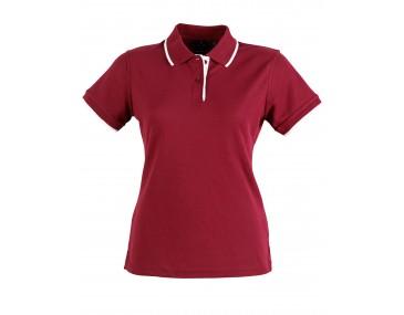 Collar Tip Ladies Polo Shirt