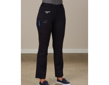 Womens Cargo Pants Logo Emblazoned