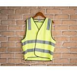 High Visibility H Pattern Safety Vest