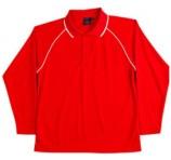 Premium Long Sleeved Polo Shirt
