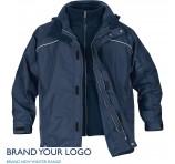 Mens Vortex 3-In-1 jackets