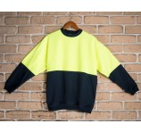 Safety Fleece Crew Neck Sweat