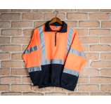 Safety Fleece Hi Visibility Cross Back