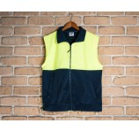 Safety Fleecy Vest High Visibility