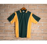 Sporty Contrast Adult Polo