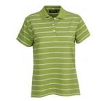 Striped Ladies Polo Shirt