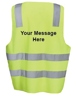 Mock Up Hi-Vis Vest